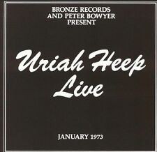 Uriah Heep Live January 1973 (CD, July 1989, Mercury) FREE 1st CLASS SHIPPING!