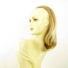 Demi-tête, demi-perruque 40cm  blond clair cuivré blond clair ref 021 en 27t613