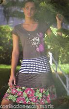 New item dress point size l dress woman shirt massana ref 3-13