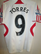 "Liverpool 2007-2008 Torres Away Football Shirt Size Childrens 30""-32"" /15139"