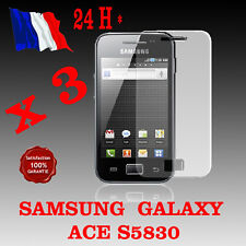 Lot x 3 : Film protection ecran SAMSUNG GALAXY ACE S5830 + chiffon - qualité SUP