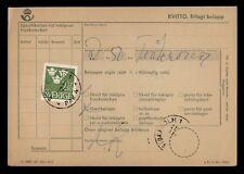 Dr Who 1966 Sweden Stockholm Coil On Receipt Card d41370