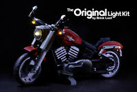 LED Lighting Kit for LEGO ® Harley Davidson Fat Boy Motorcycle set 10269