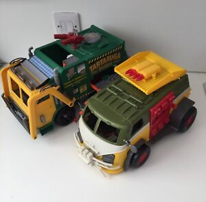 TMNT Turtles Tartaruga Brothers Garbage Truck Camper Spares Repairs OOAK