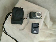 Panasonic LUMIX DMC-TZ4 8.1MP Digital Camera - Black EXC Tested w/Accessories