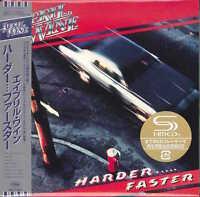 APRIL WINE-HARDER FASTER -JAPAN MINI LP SHM-CD Ltd/Ed G00