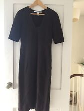 DIANA VON FURSTENBERG NEW WOMENS BROWN FITTED DRESS SIZE 4.