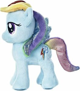 "Aurora World My Little Pony Rainbow Dash Plush, 6.5"" NWT"