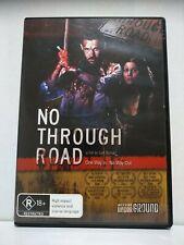 No Through Road Region Free Dvd R18+ Rare Free shipping in Australia Horror
