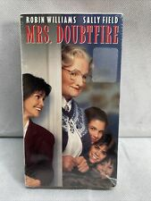 New Factory Sealed Mrs. Doubtfire 1993 First Press VHS MINT
