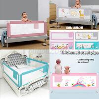 Baby Guard Bed Rail Toddler Safety Adjustable Kids Infant Bed Universal 59-79''