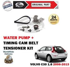 FOR VOLVO C30 1.6 16V 100BHP 2006-2013 TIMING CAM BELT KIT + WATER PUMP SET