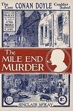Mile End Murder: The Case Conan Doyle Couldn't Solve by Sinclair Mckay Hardcover