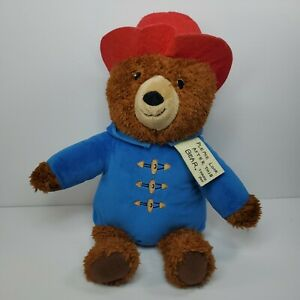 Kohl's Cares Paddington Bear 15in. plush with tag blue jacket red hat FAST SHIP!