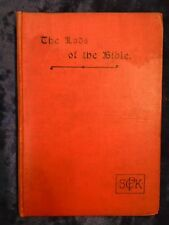THE LADS OF THE BIBLE by REV W J BETTISON - SPCK 1905 - H/B - £3.25 UK POST