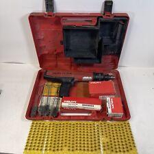 Hilti Dx36m Powder Actuated Nail Gun With Casepinsshot