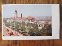 Vintage Postcard Union Depot Denver Colorado Train Station Railroad