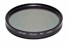 Kood Linear Polarizing Filter Made in Japan 72mm