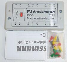 Viessmann 5212 DCC - Magnetartikeldecoder OVP