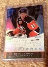 2008-09 Trilogy Kyle Okposo Rookie Premieres #324/999