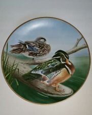 Waterbird Plate by Danbury Mint Wood Duck by Eric Tenney