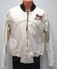 vtg Schaefer BUDWEISER RODEO Jacket XL Native Blanket Lined Western 90s Bud Beer