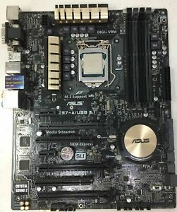 ASUS Z97-A motherboard+intel i5 4460S @2.90 GHz