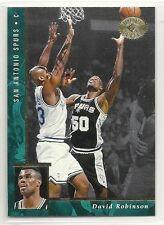 1995-96 SP Championship Basketball - #97 - David Robinson - San Antonio Spurs