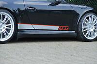 Ingo Noak Seitenschweller Sideskirts ABS für Porsche 911 997 4S + Turbo 04-08