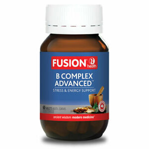 B Complex Advanced by Fusion Health 60 tablets