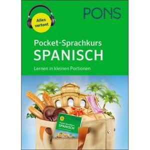 NEU: PONS Pocket-Sprachkurs SPANISCH lernen für Anfänger in kleinen Portionen