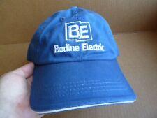 Genuine BODINE ELECTRIC Motors AC DC Gearmotors HAT Cap EXCELLENT CONDITION Blue