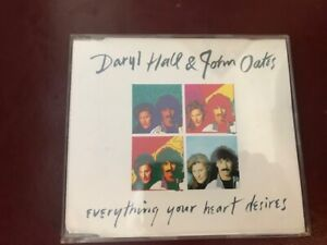 Daryl Hall & John Oates - Everything Your Heart Desires cd single