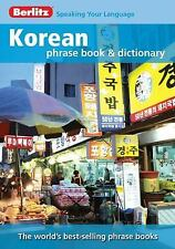Berlitz Korean Phrase Book & Dictionary (English and Korean Edition)