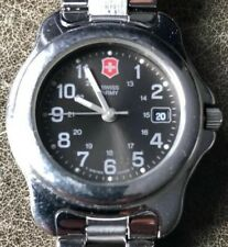 Swiss Army Officers 24343 Small Women's Stainless Steel Watch With Date