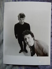 BW 6x8 press PHOTO  Punt and Dennis