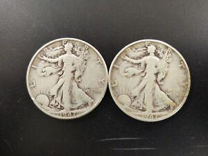 1947 & 1947-D walking liberty half dollars