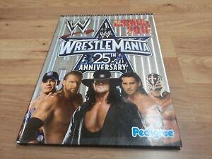 🌟WWE 2010 Annual Wrestling magazine Undertaker, Cena, Orton, Wrestlemania 25🌟a