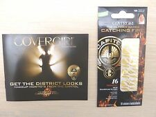 NEW Cover Girl HUNGER GAMES SEARED BRONZE Nail Decals & Booklet Cosplay Costume