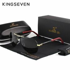 KINGSEVEN Men Vintage Aluminum Polarized Sunglasses Classic Brand Sun glasses