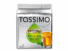 Tassimo Twinings Green Tea & Mint, 16 T-Discs, New, Free Shipping