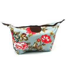 Rose Flower Design Cosmetic Make up Wash Travel Bag Hotel Holiday Work