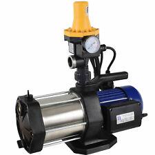 Hauswasserwerk Hauswasserautomat Kreiselpumpe Pumpe Gartenpumpe leise 5 Stufen