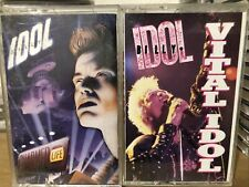 Lot Of 2 Billy Idol Cassette Tapes