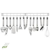 Küchenbesteck Küchenhelfer Hängeleiste Küchenutensilien Kochzubehör Set 13 tlg