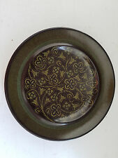 Franciscan Maderia Green Brown 6  5/8 Inch Bread Dessert Plate