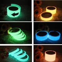 Hot Luminous Tape Self-adhesive Glow In Dark Safety Film Sticker Stage Decor .*