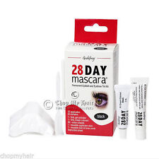 Godefroy 28 Day Mascara Permanent Eyelash/Brows BLACK Tint Kit 701 - 25 Apps