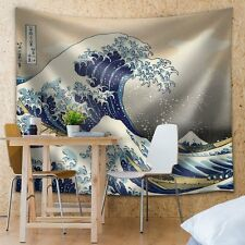 The Great Wave off Kanagawa - Fabric Tapestry, Home Decor - 51x60 inches
