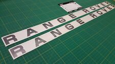 Range Rover classic vogue LSE SE bonnet tailgate restoration decals stickers MK1